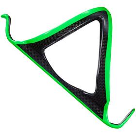 Supacaz Fly Cage Carbon Flaskeholder grøn/sort